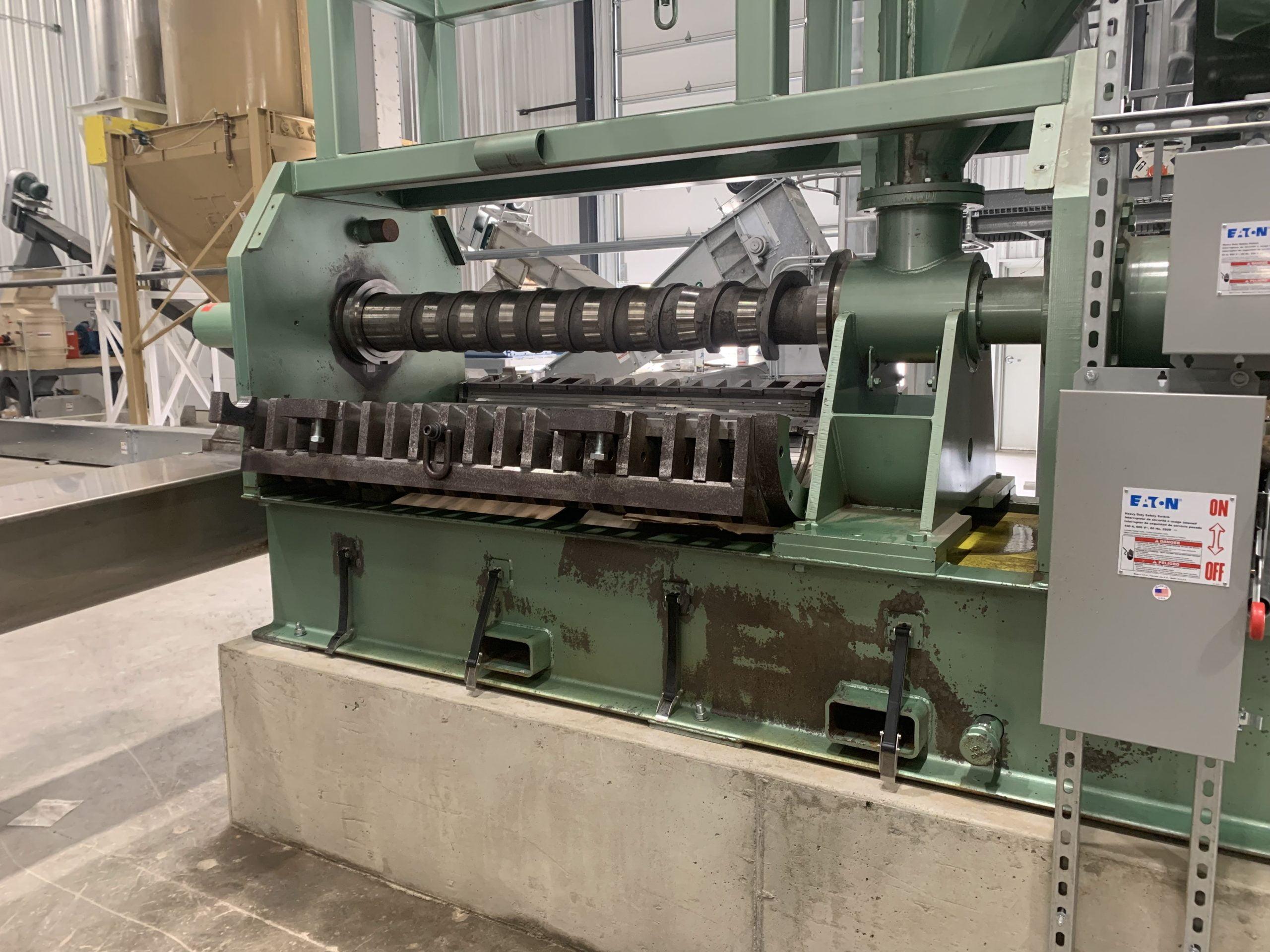 Restored Machine Via Dry Ice Blasting
